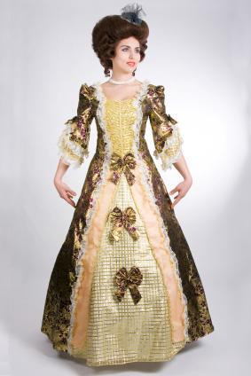 1700-tals klänning
